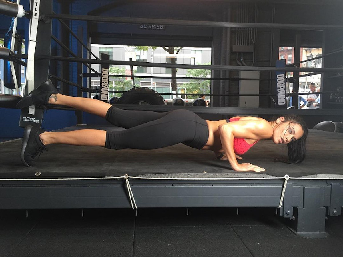 Adriana Lima Shares Her 5-Step Workout Routine For The Victoria's Secret Fashion Show