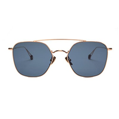 Concorde Brushed Rose Gold Sunglasses