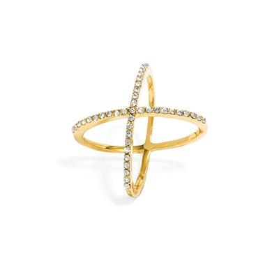 Crystal Mason Ring