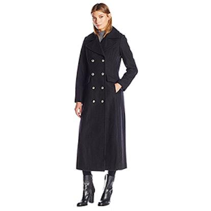Maxi Military Wool Peacoat
