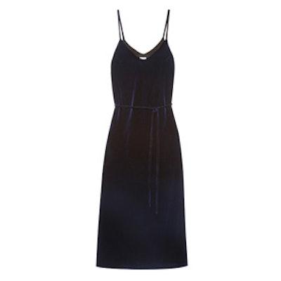Velvet Maxi Dress