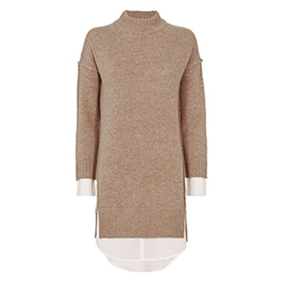 Layered Sweater Dress