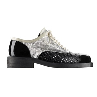 Silver Lace-Ups