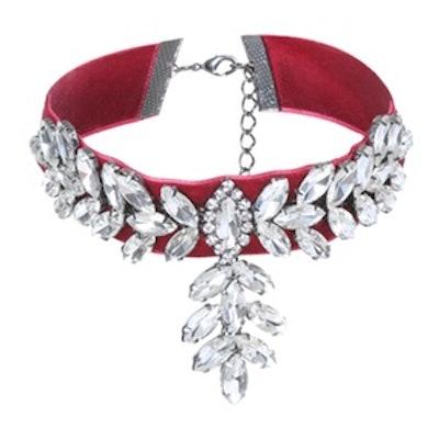 Crystal Embellished Choker