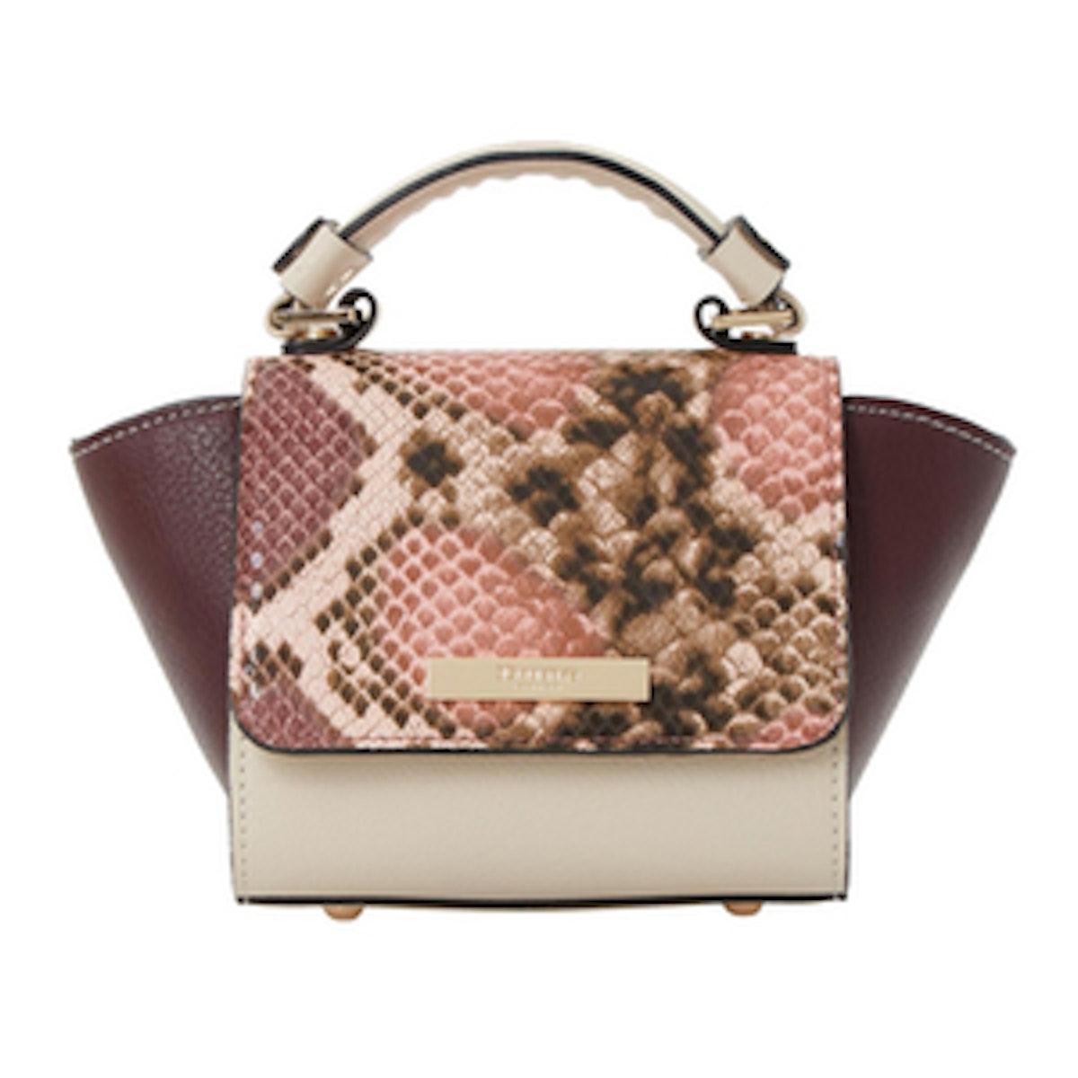 Winged Top Handle Micro Bag