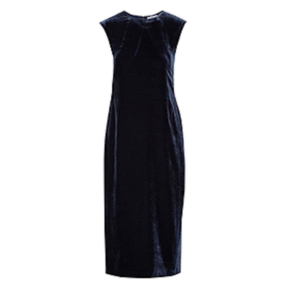 Michelle Cutout Velvet Midi Dress