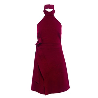 Lay It Down Halter Dress