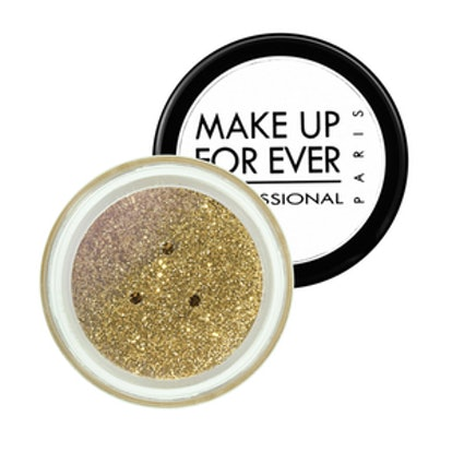 Make Up For Ever Glitters in Yellow Gold