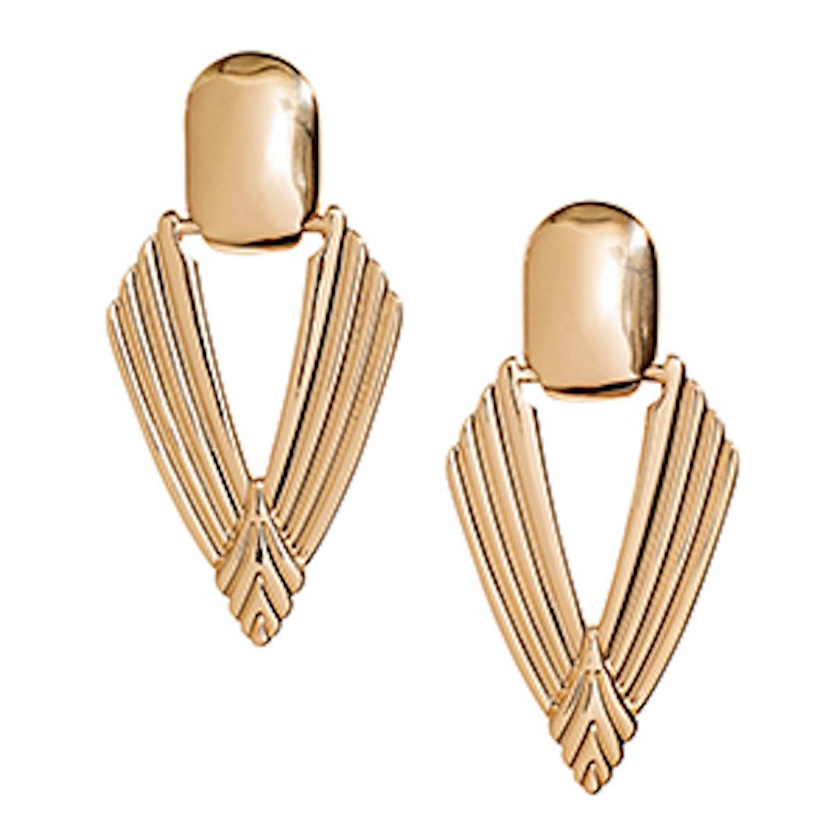 Arrow-Shaped Earrings