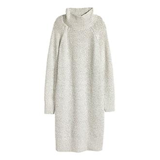 Knit Turtleneck Dress