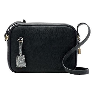 Signet Leather Crossbody Bag