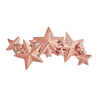 Constellation Rose Gold-Plated Hairclip