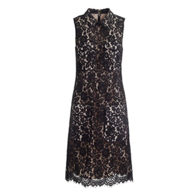 Lace Dress with Pockets