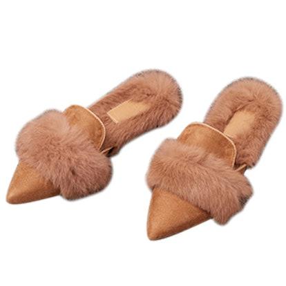 Yulie Furry Mule