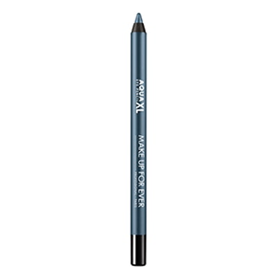 Make Up For Ever Aqua XL Eye Pencil Waterproof Eyeliner in Satin Navy Blue