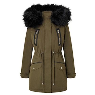 Petite Lux Parka Coat