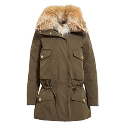 Margarita Down Jacket With Removable Collar And Vest