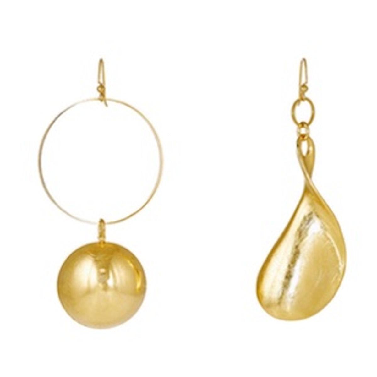 Lunar Asymmetric Earrings