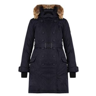 The Tula Double-Breasted Parka