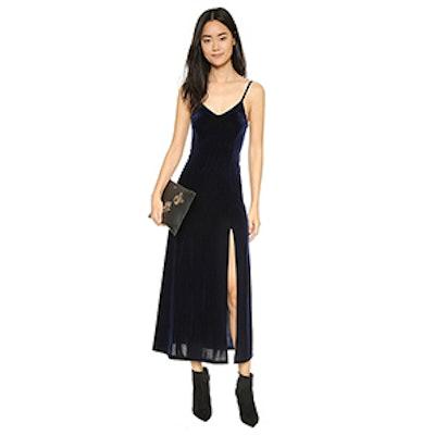 Only Hearts Velvet Underground Slip Dress