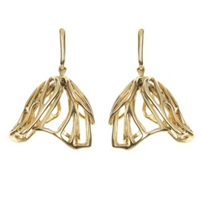Graphic Lilly Cup Earrings