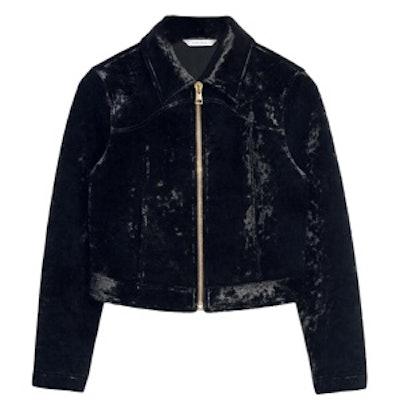 Petite Velvet Jacket