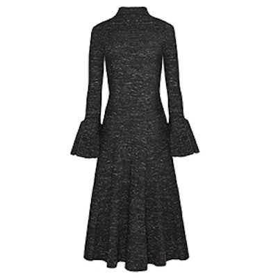 Marle Ribbed Bell Sleeve Dress