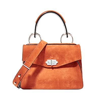 Hava Small Suede Shoulder Bag