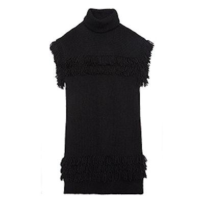 Teegan Fringed Sweater Dress