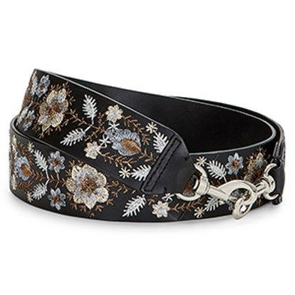 Embroidery Floral Guitar Strap