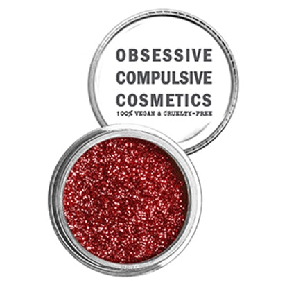 Cosmetic Glitter in Red