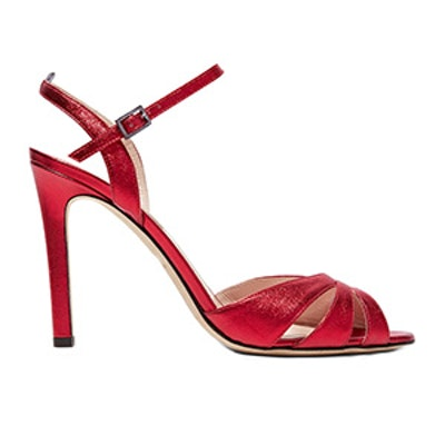Westminster Metallic Leather Sandals