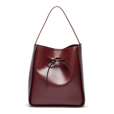Oxblood Vegan Bucket Bag