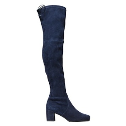 Hinterland Stretch-Suede Over-The-Knee Boots