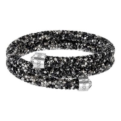Crystaldust Bangle Double, Dark Crystals