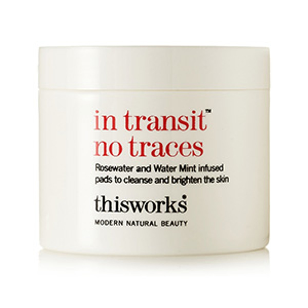 'In Transit No Traces' Rosewater and Mint Pads