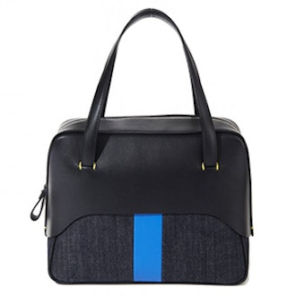 Mignon Bag By Myriam Schaefer In Black And Blue