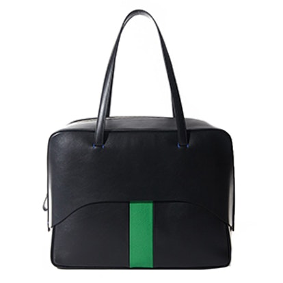 Papa Bag By Myriam Schaefer In Black And Green