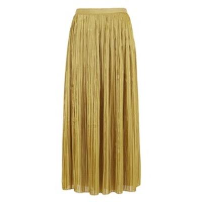 Pleated Flume Sunray Skirt