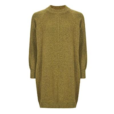 Cosy Blouson Sleeve Jumper Dress