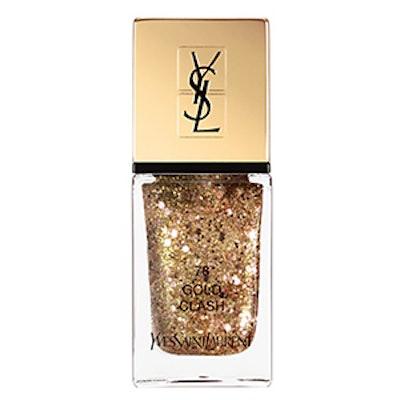 La Laque Couture Sparkle Clash Collection In Gold Clash