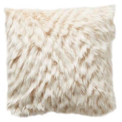 Diamante Faux-Fur Pillow