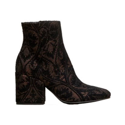 Odonna Brocade Ankle Bootie