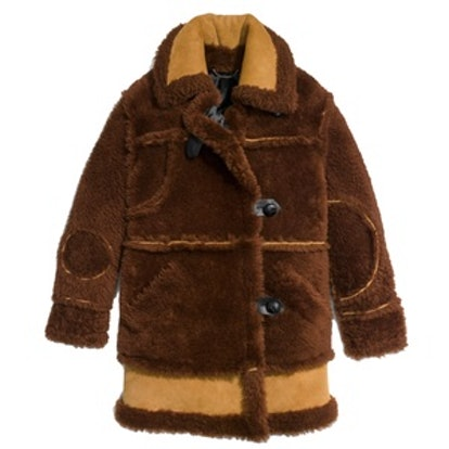 Inside Out Shearling Coat