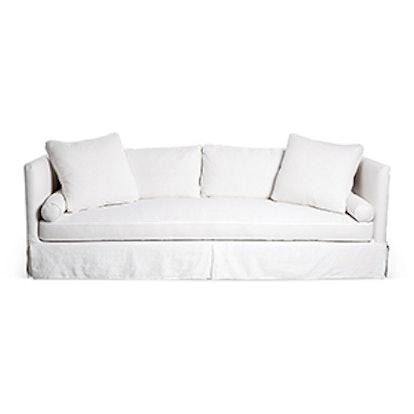 Olive Slipcover Sofa