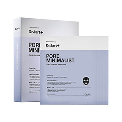 Pore Minimalist Charcoal Sheet Mask
