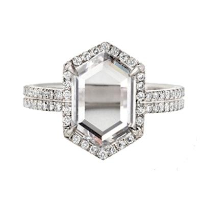 The Hero Diamond And Platinum Ring