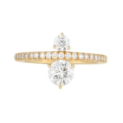 Prive Luxe Diamond Ring in 18K Gold