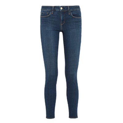 Chantal Low-Rise Skinny Jeans