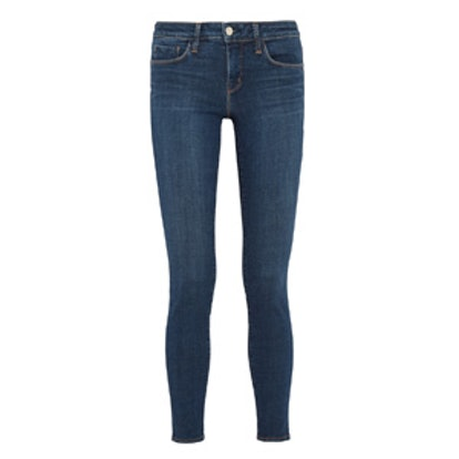 Chantal Low-Rise Skinny Jeans